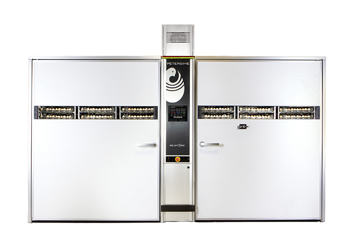 With the OvoScan™ technology and increased heating and cooling capacity, the BioStreamer™ Re-Store guarantees a controlled, gradual and precise heating and cooling of the eggs.