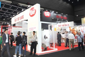 The Cobb stand at VIV Asia