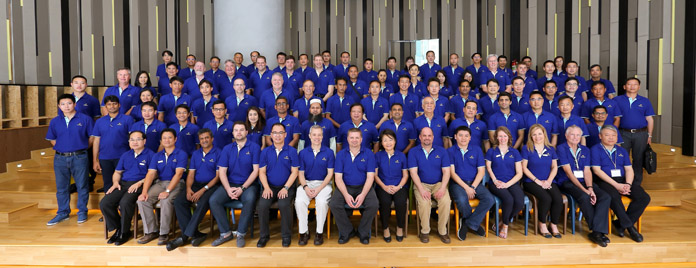 More than 100 participants took part in the Hy-Line Asian Technical Seminar for two days of intensive training, marking Hy-Line's increased market share in the region.
