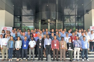Seminar participants at week-long event