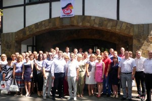 Delegates attending the two-day Cobb seminar in Ukraine