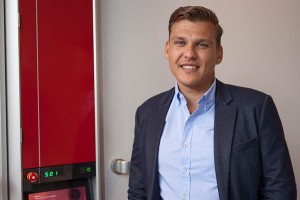 Niels Stam, new sales director for Pas reform for Eastern Europe