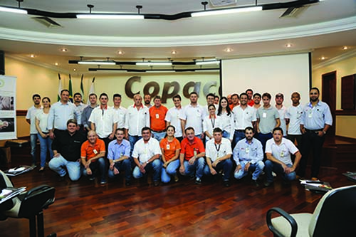 The participants and trainers of the Copacol workshop