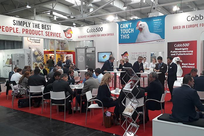Cobb500 - The best broiler on the EuroTier Exhibition in
